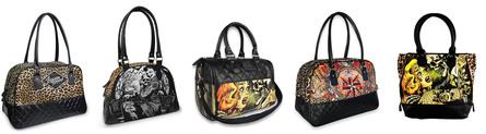 Tašky a kabelky od Liquor Brand skladem