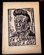 Linoryt Ex Libris Johnny Cash