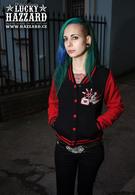 Mikina Sadie Jacket - Red