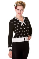 Dámský svetr ,, ANCHORS ,,black