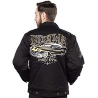 LUCKY 13 PURE EVIL LINED JACKET