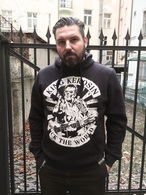 man hoodie fuck the world