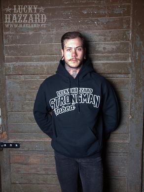 hoodie strong man