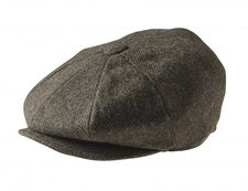 NEWSBOY CAP - GREEN WOLF