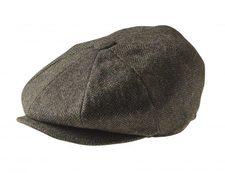 NEWSBOY CAP - ZELENÁ VZOR