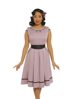 'Bethany' Lilac Swing Dress