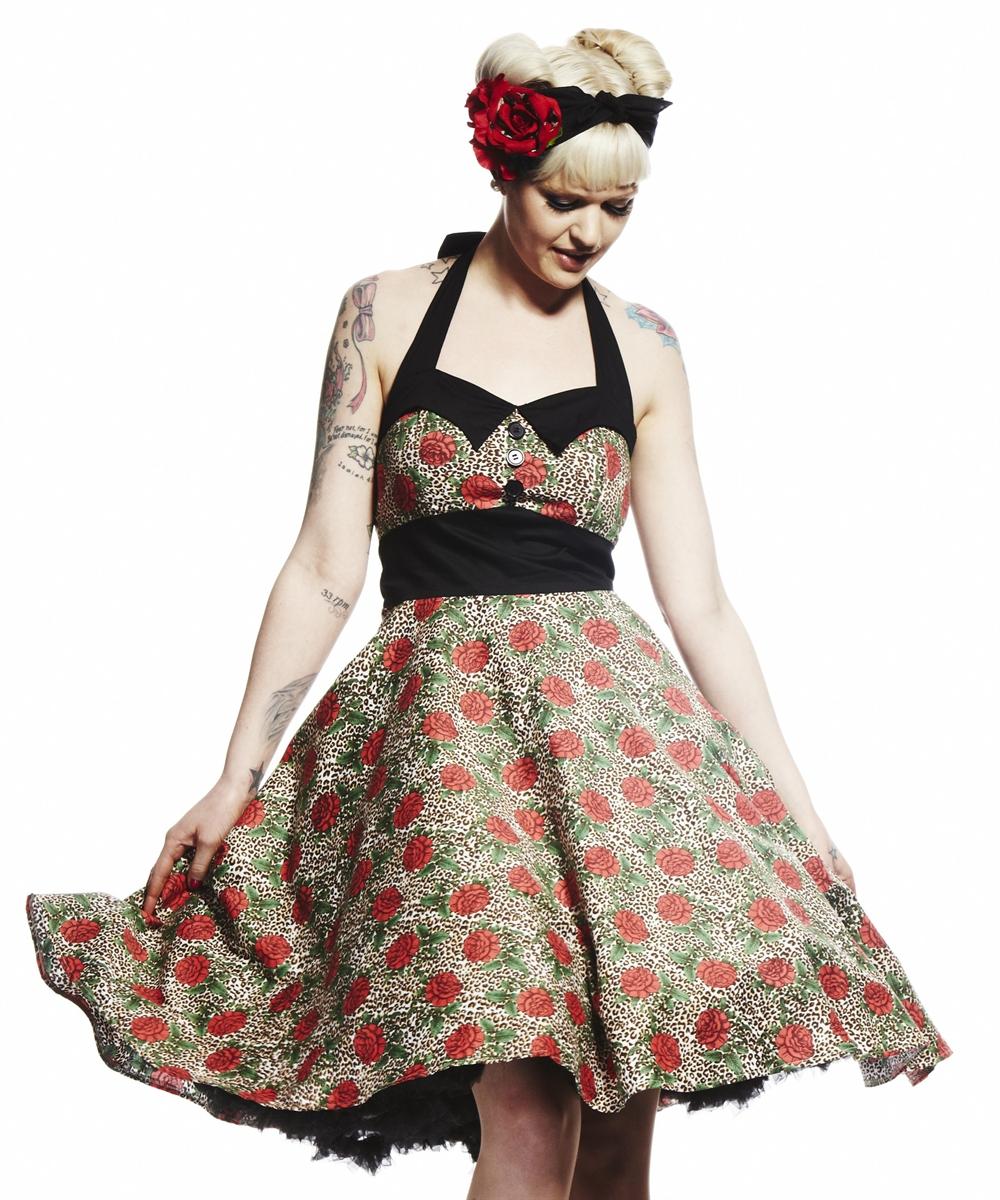 Charlie 50s Dress - Rockabilly & Psychobilly Shop   Lucky Hazzard ...